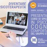 Diventare Psicoterapeuta: Presentazione dei corsi delle Scuole di Psicoterapia del gruppo Studi Cognitivi