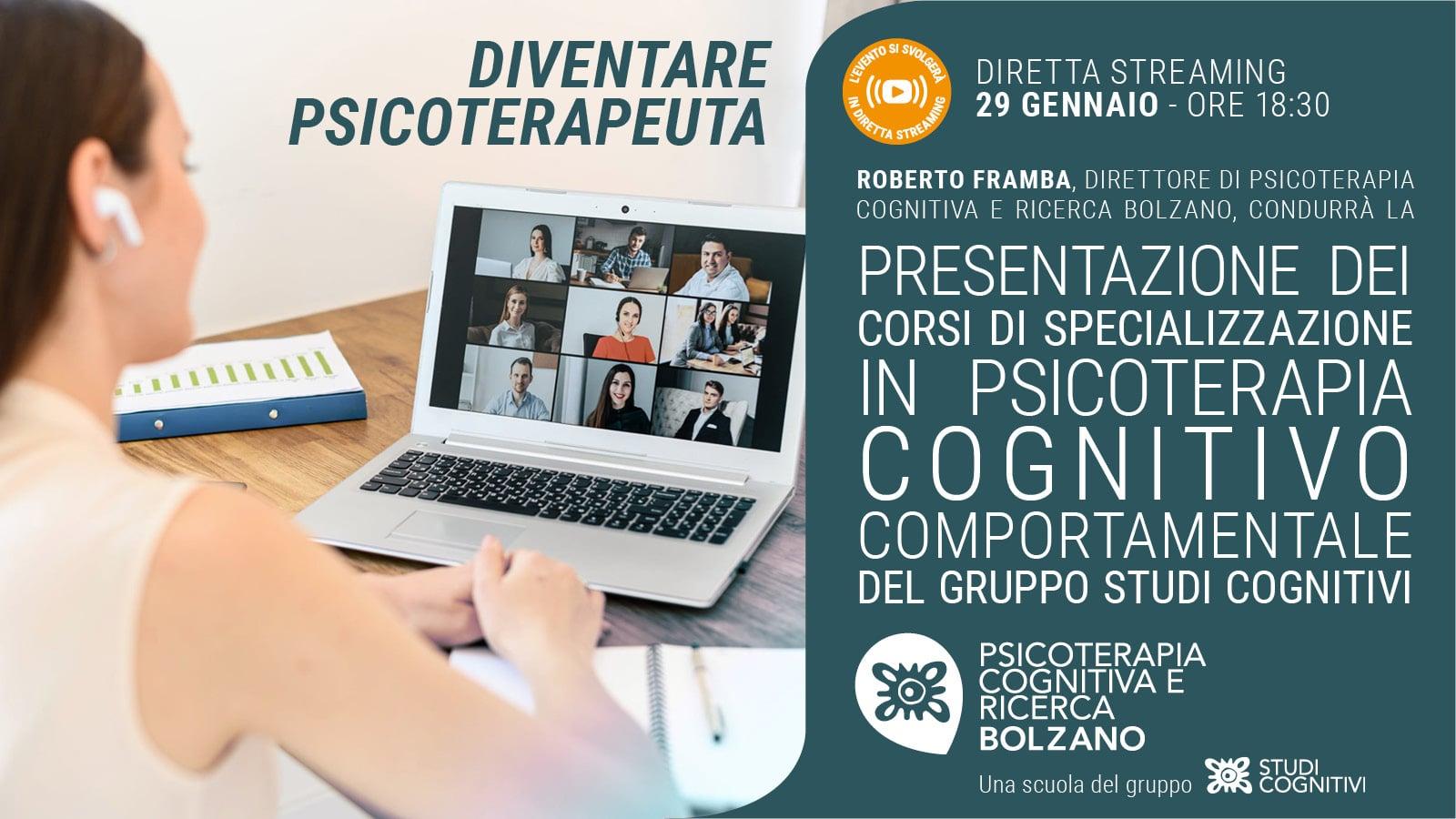 BOLZANO - 210129 - Presentazione Scuola - Banner