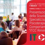 Presentazione della Scuola di Psicoterapia di Rimini - Evento ONLINE, 09 Marzo 2021