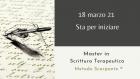 Master in Scrittura Terapeutica Metodo Scarpante – 3 ed. (18 Marzo – 28 Ottobre 2021)