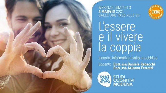 L'essere e il vivere la coppia – Video dell'evento di Studi Cognitivi Modena