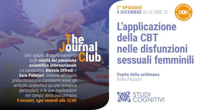 L'applicazione della CBT nelle disfunzioni sessuali femminili – Il settimo episodio di The Journal Club