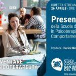 Studi Cognitivi San Benedetto del Tronto: presentazione online dei corsi di Specializzazione in Psicoterapia - 26 Aprile 2021