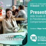 Scuola Cognitiva di Firenze: presentazione della Scuola di Specializzazione in  Psicoterapia - Evento in diretta streaming, 19 Maggio 2021