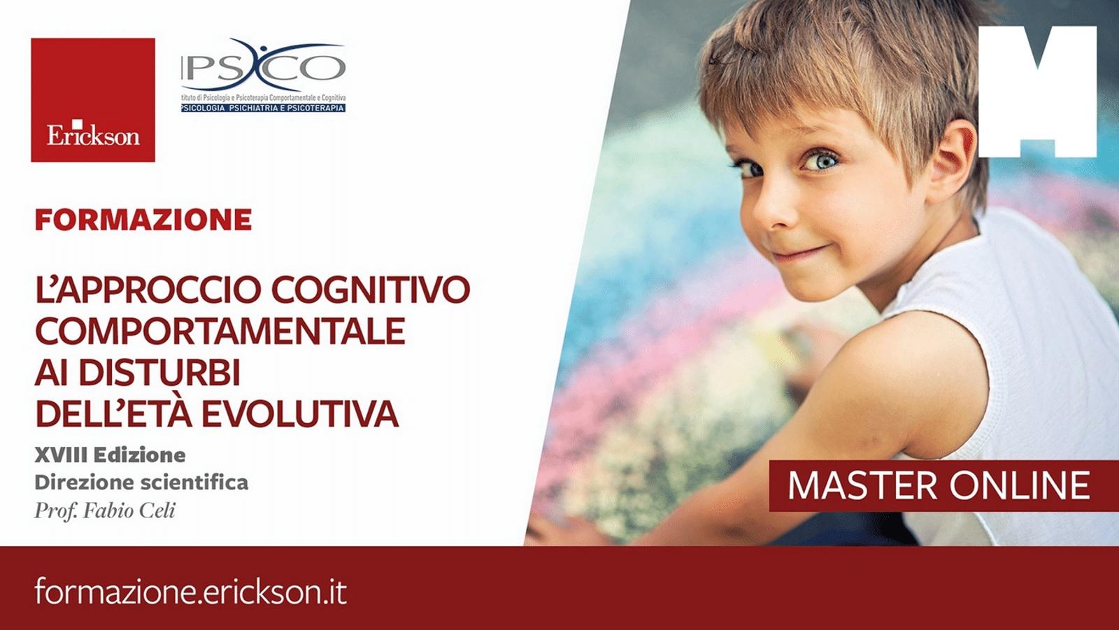Approccio cognitivo comportamentale ai disturbi dell eta evolutiva - Master Erickson