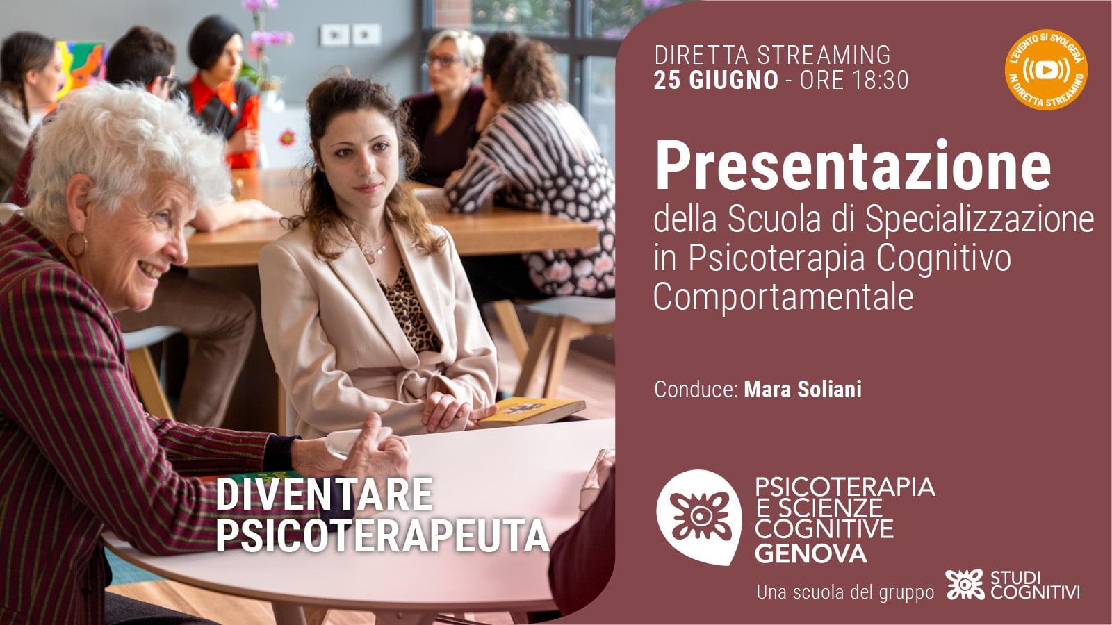 GENOVA - 210625 - Presentazione Scuole - Banner