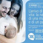 L'arrivo di una nuova vita: la nascita di una mamma e di un papà - Webinar, 15 Giugno 2021