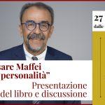 """Cesare Maffei: presentazione libro """"Oltre la personalità"""" e discussione - Evento online, 27 Maggio 2021"""