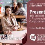 Psicoterapia e Scienze Cognitive Genova: presentazione ONLINE della Scuola di Psicoterapia –  24 Settembre 2021