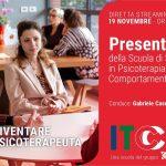 Presentazione della Scuola di Psicoterapia di Rimini- Diretta streaming 19 Novembre 2021