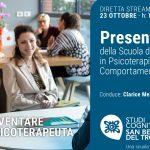 Presentazione dei corsi di Specializzazione in Psicoterapia Cognitivo Comportamentale