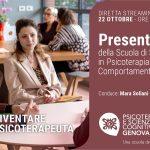 Presentazione della Scuola di Specializzazione in Psicoterapia Cognitivo Comportamentale di Genova